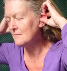 Polarity therapy youth posture ear exercises